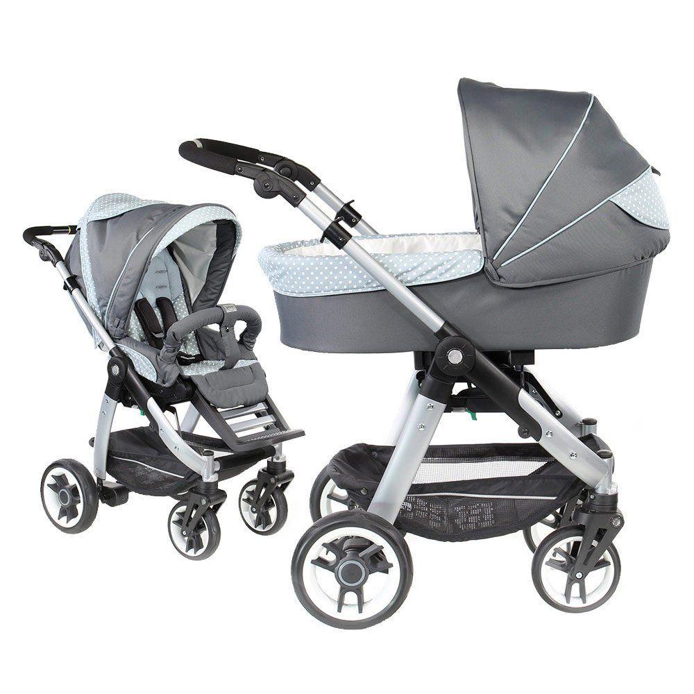 Luxuriöser und wendiger Kinderwagen für aktive Eltern