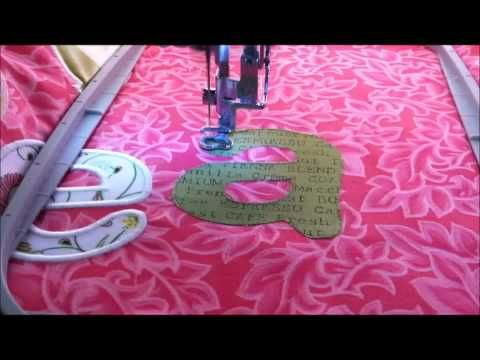 ▶ Machine Embroidery Applique - YouTube