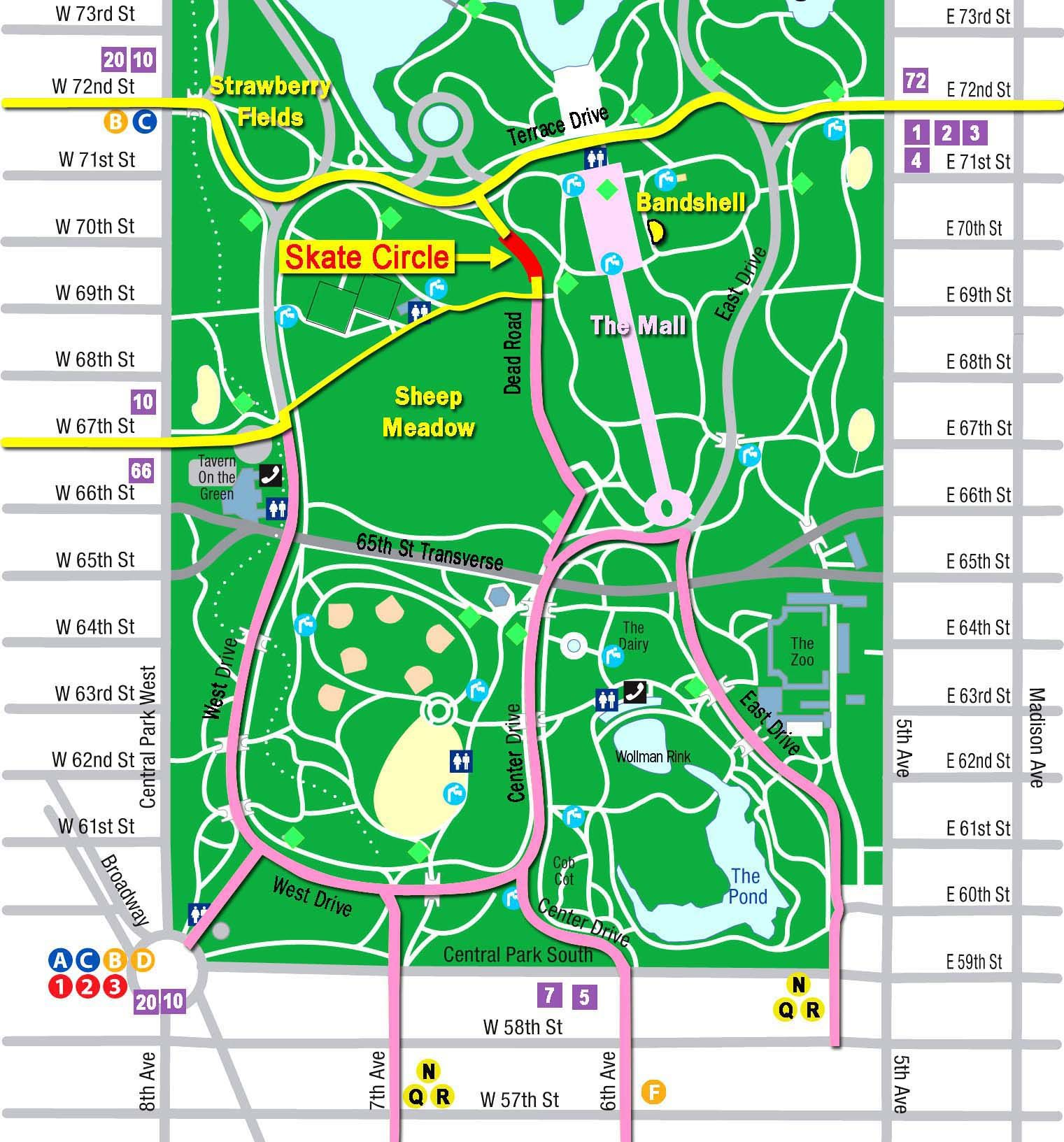 Central Park Map Google Search BG Reference Pinterest - Nyc map google maps