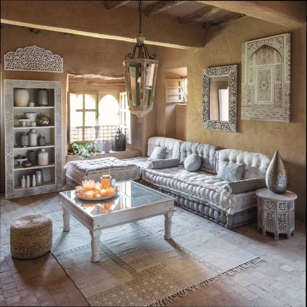 dekoideen wohnzimmer orientalisch  Rustic living room, Oriental