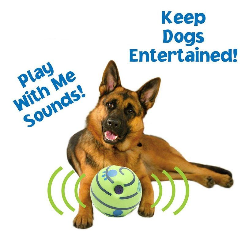 10cm Wobble Wag Giggle Ball Interactive Dog Toy Funny Sounds Pet Puppy Chew Toys Dog Play Ball Training Sport Pet Toys Interactive Dog Toys Dog Toys Best Dog Toys