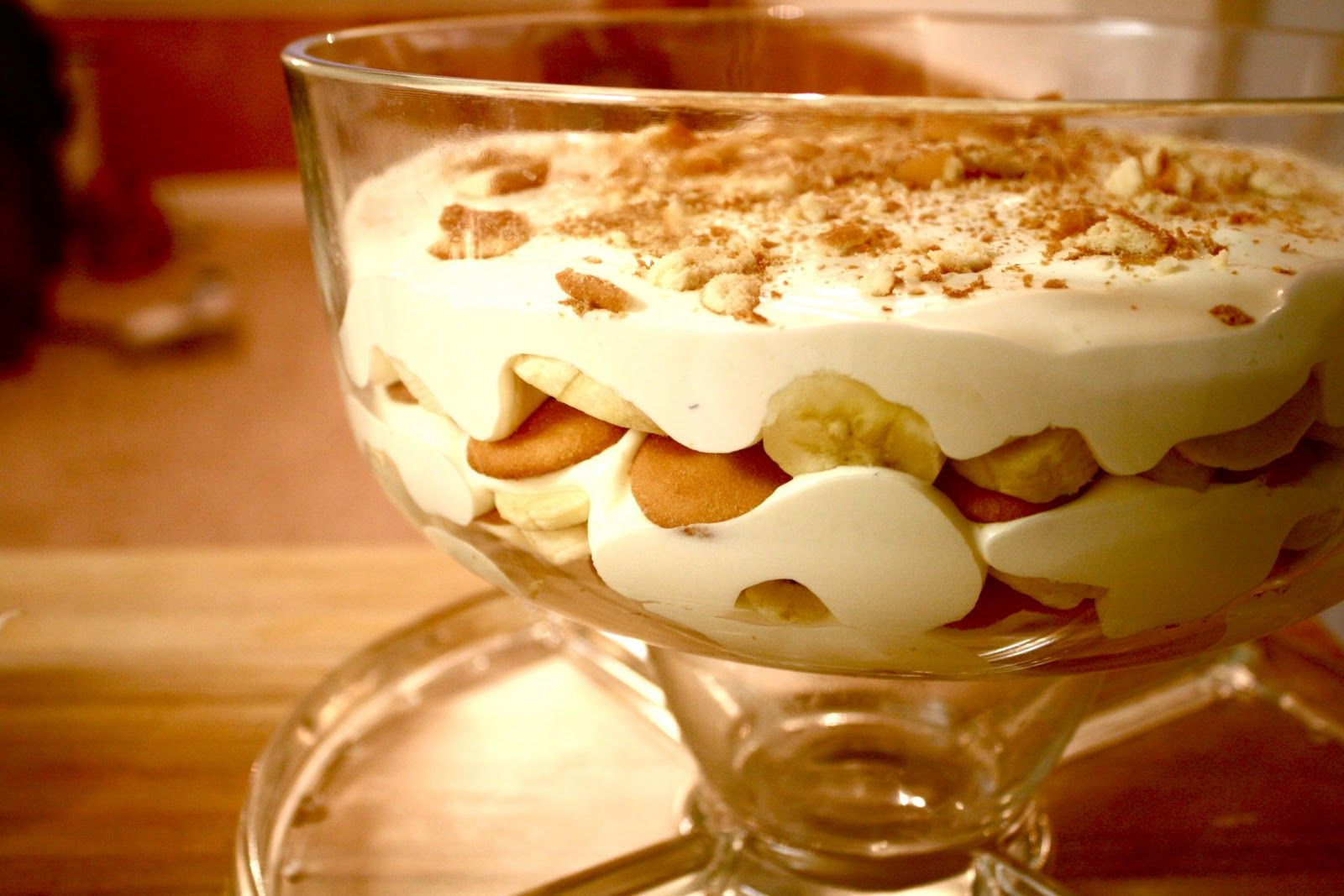 Banana Pudding 1 3 Oz Pkg Instant Vanilla Pudding 1 T Vanilla 2 C Milk 4 Oz Cool Whip Banana Pudding Best Banana Pudding Vanilla Wafer Banana Pudding