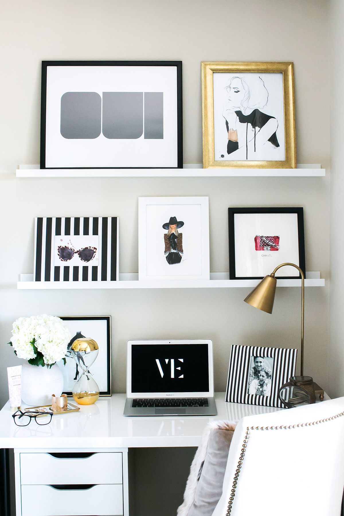 chic office space. plain space 20 chic ways to organize your office in space