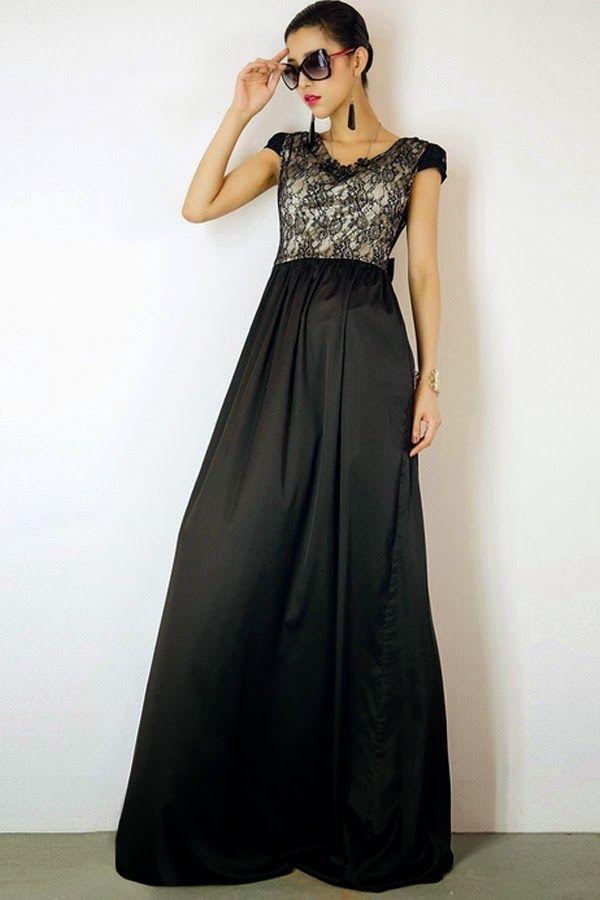 781a220a0 Sencillos y baratos vestidos largos de damas