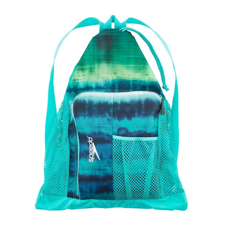 Perú suelo Tercero  Speedo Deluxe Ventilator Mesh Equipment Pool Gear Swimming Bag Tie Dye  Turquoise | Swimming bag, Mesh swim bag, Mesh bag