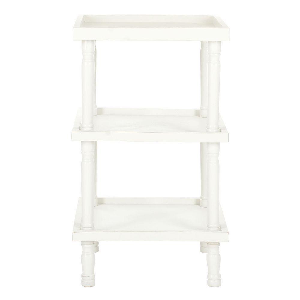 Safavieh esmeralda end table white products