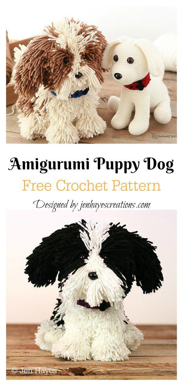 Amigurumi Puppy Dog Free Crochet Pattern TRICKS OF KNITTING Knitting is one of the most enjoyable and timeconsuming crafts For knitting enthusiasts there are some unique...