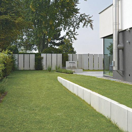 Alessio conceptdesign sichtbeton grau 250 x 60 x 10 cm - L steine garten ...