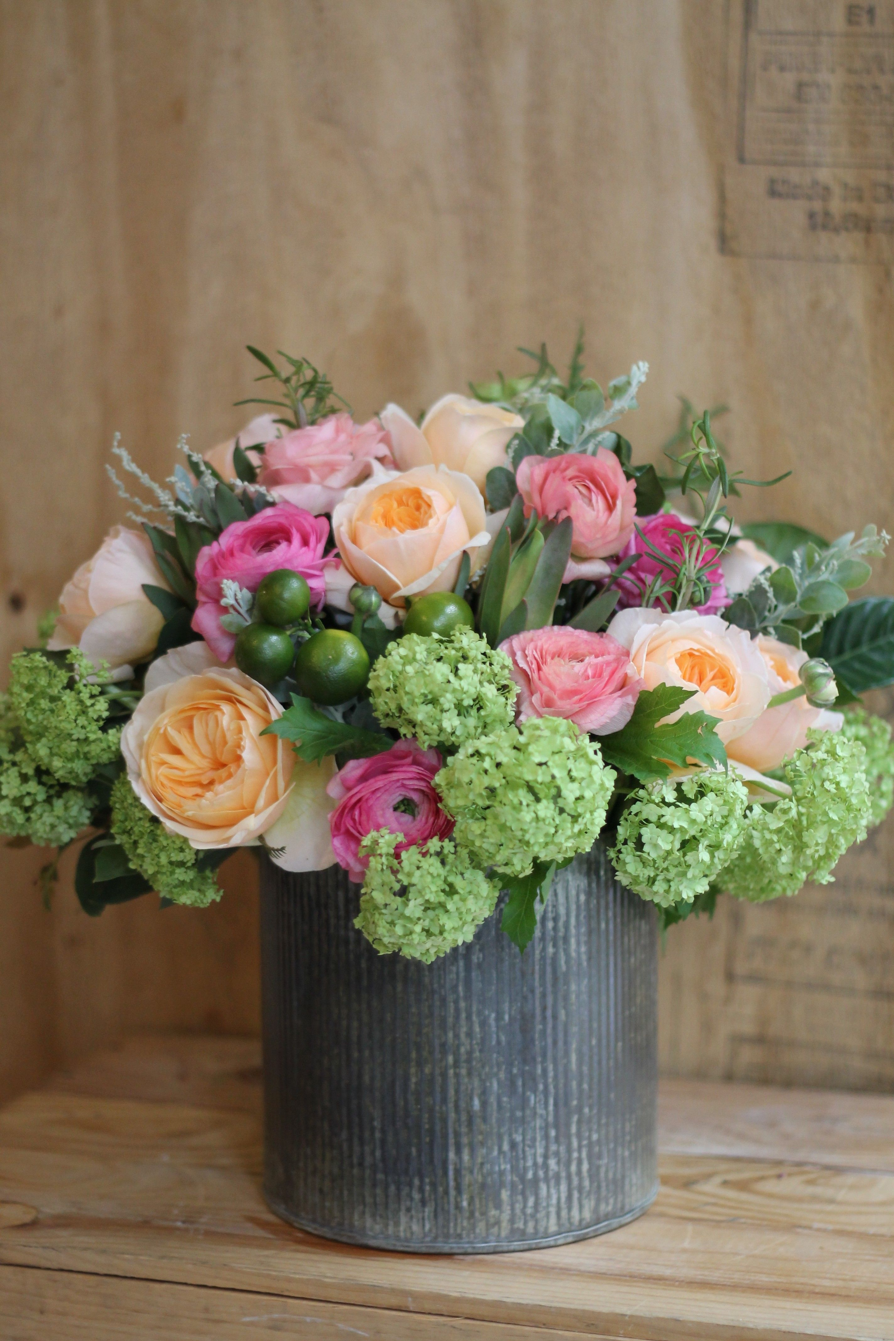 Blooming Tin Flower Arranging Pinterest Gotham Florists And