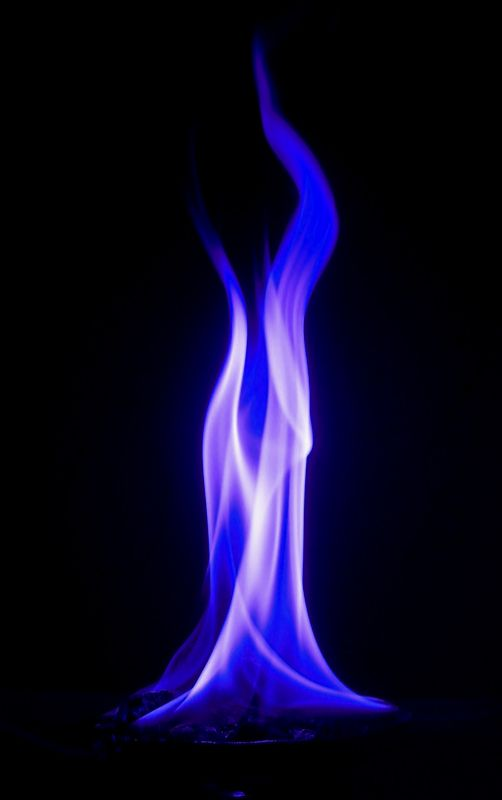 Blue Fire By Wieloyeden Flame Art Purple Flame Flame Tattoos