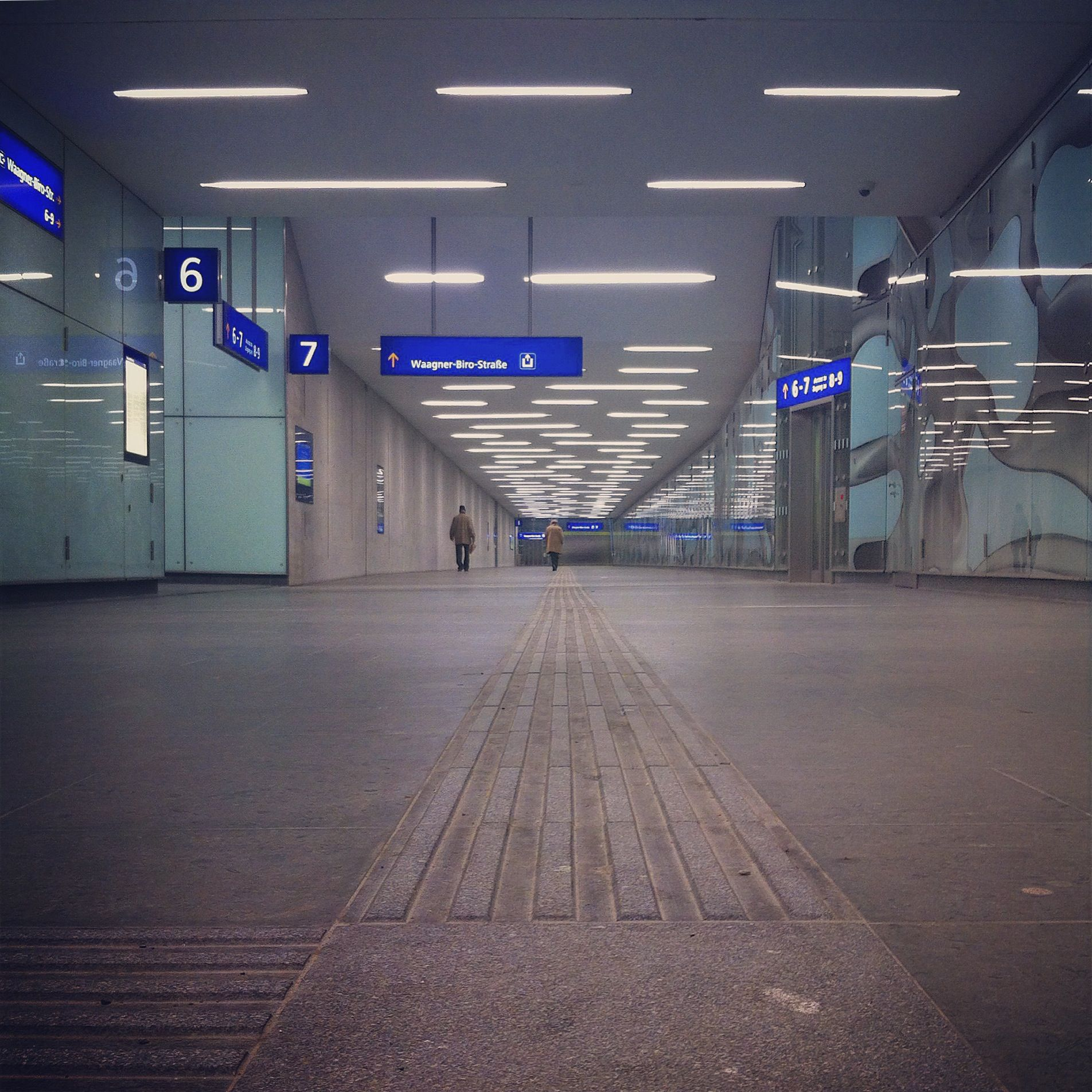 Personentunnel Hauptbahnhof So kommt man flott zu uns Zu Fuß