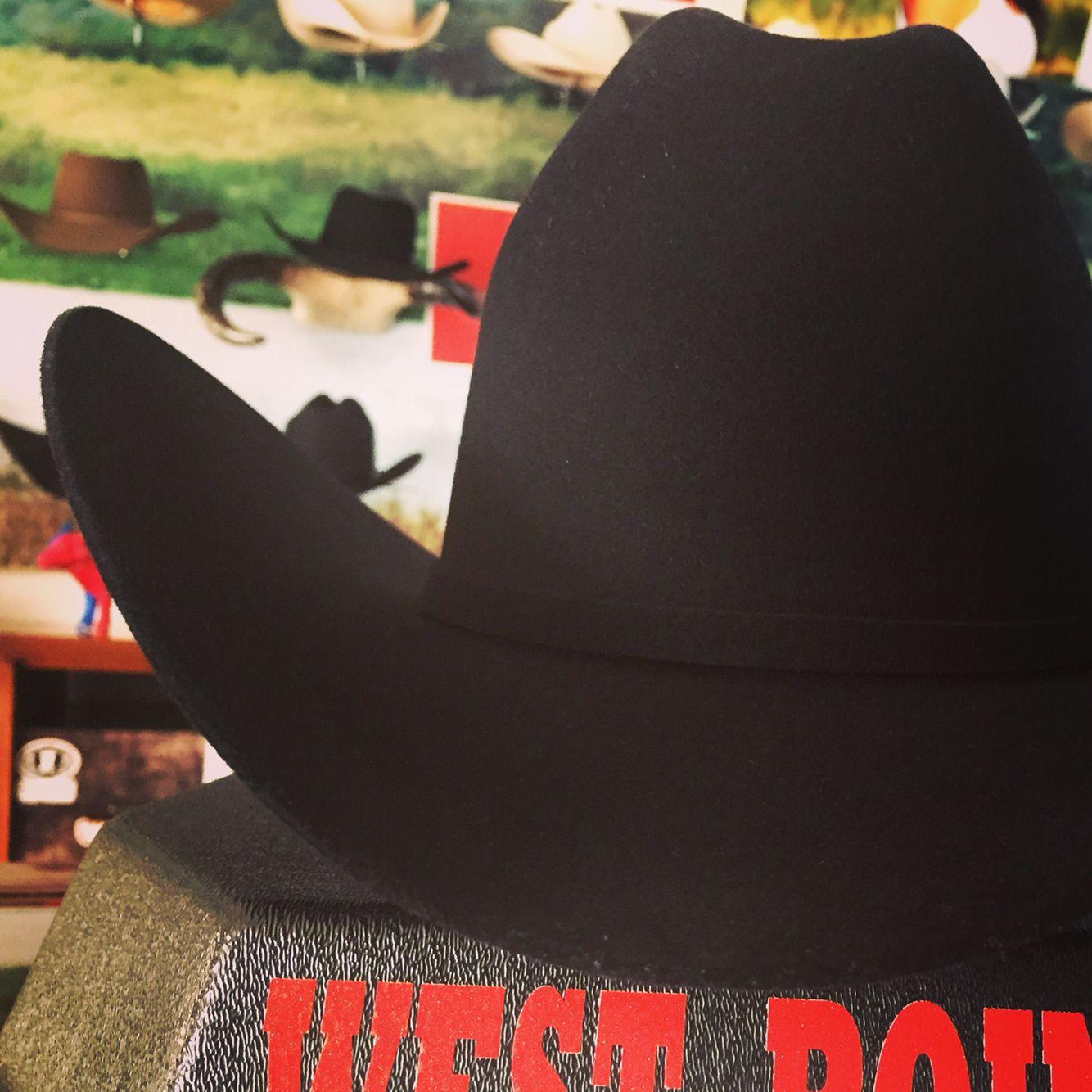Texana 1Ox Negra estilo Larry Texanas Vaqueras 3d04fc4e4251