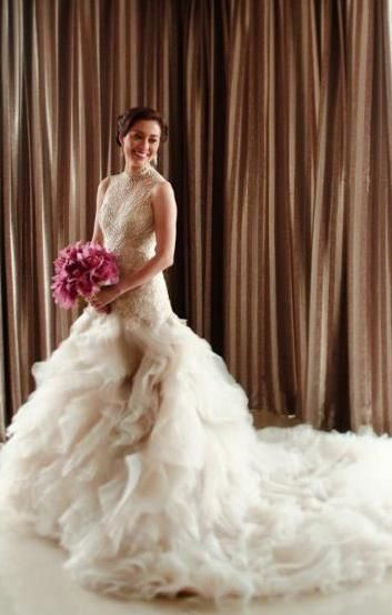 so pretty...need to get a veluz reyes custom-made dress | Dream ...
