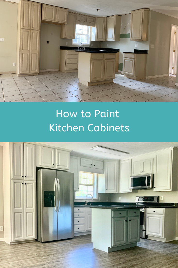 How To Paint Kitchen Cabinets In 2020 Kitchen Cabinets Painting Kitchen Cabinets Kitchen On A Budget