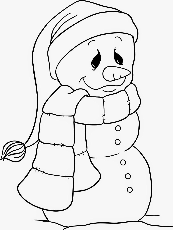 Freebie Snowman By Beccy Muir