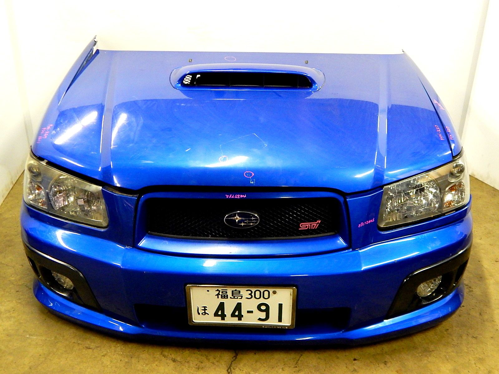 Subaru subaru forester sti front end conversion sg sg5 2003 2008 jdm subaru front end conversion versions legacy outback forester vanachro Gallery