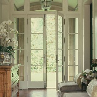 narrow exterior french doors with glass | Mary Evelyn Interiors ...