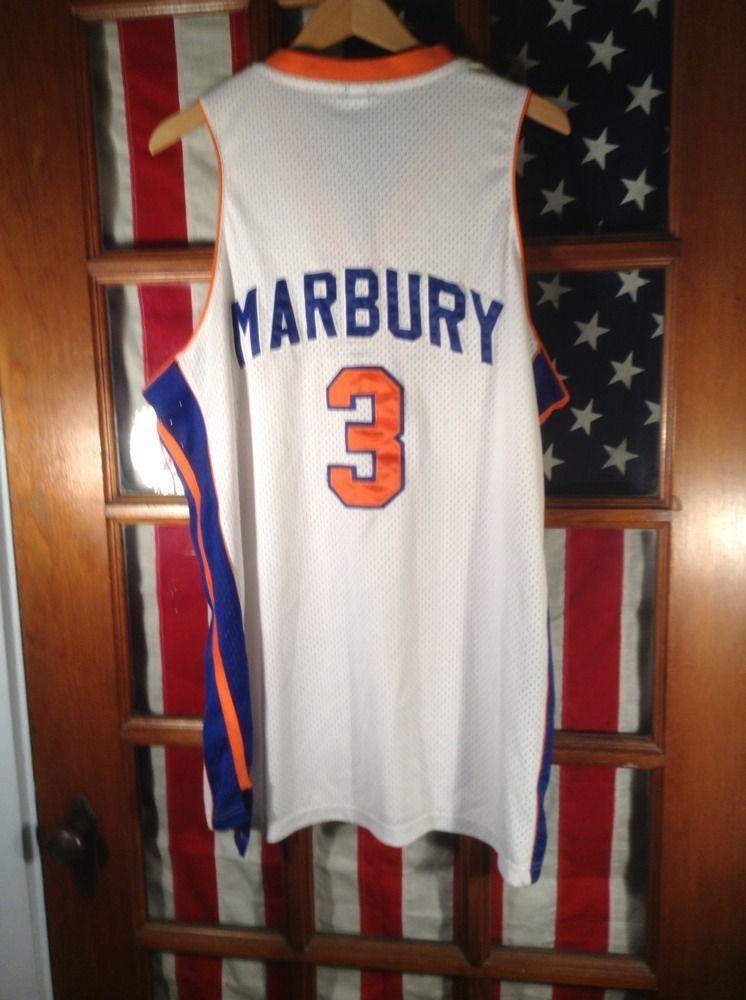 006214823 Stephon Marbury  3 New York Knicks Starbury Jersey Xl mens Basketball  Marburg  NewYorkKnicks