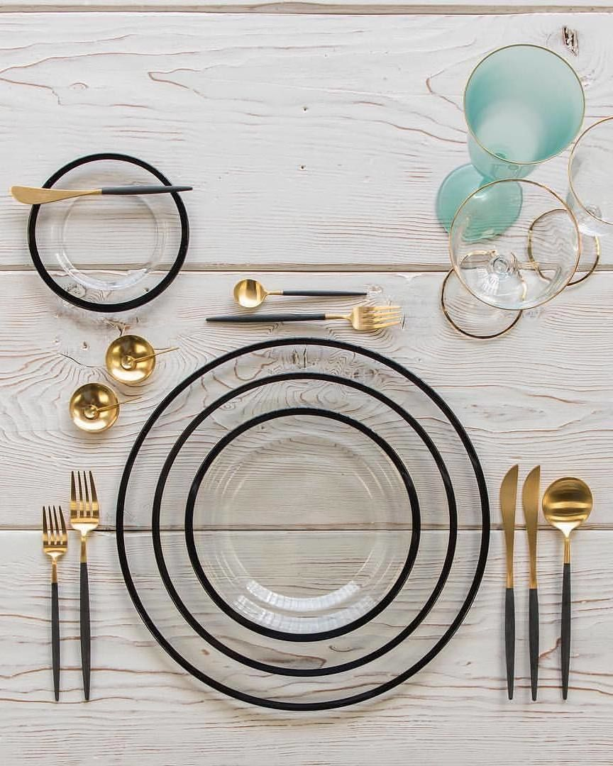 "515b7fac6154 Product Design   Decor on Instagram  ""GOA Matte Gold Cutlery by  cutipol 📷   casadeperrin"""