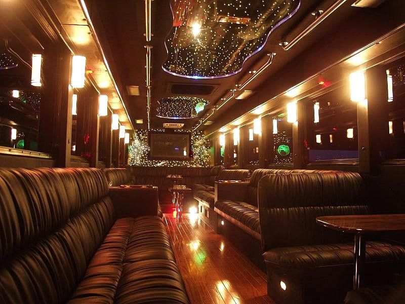 Get business info on price 4 limo party bus charter bus