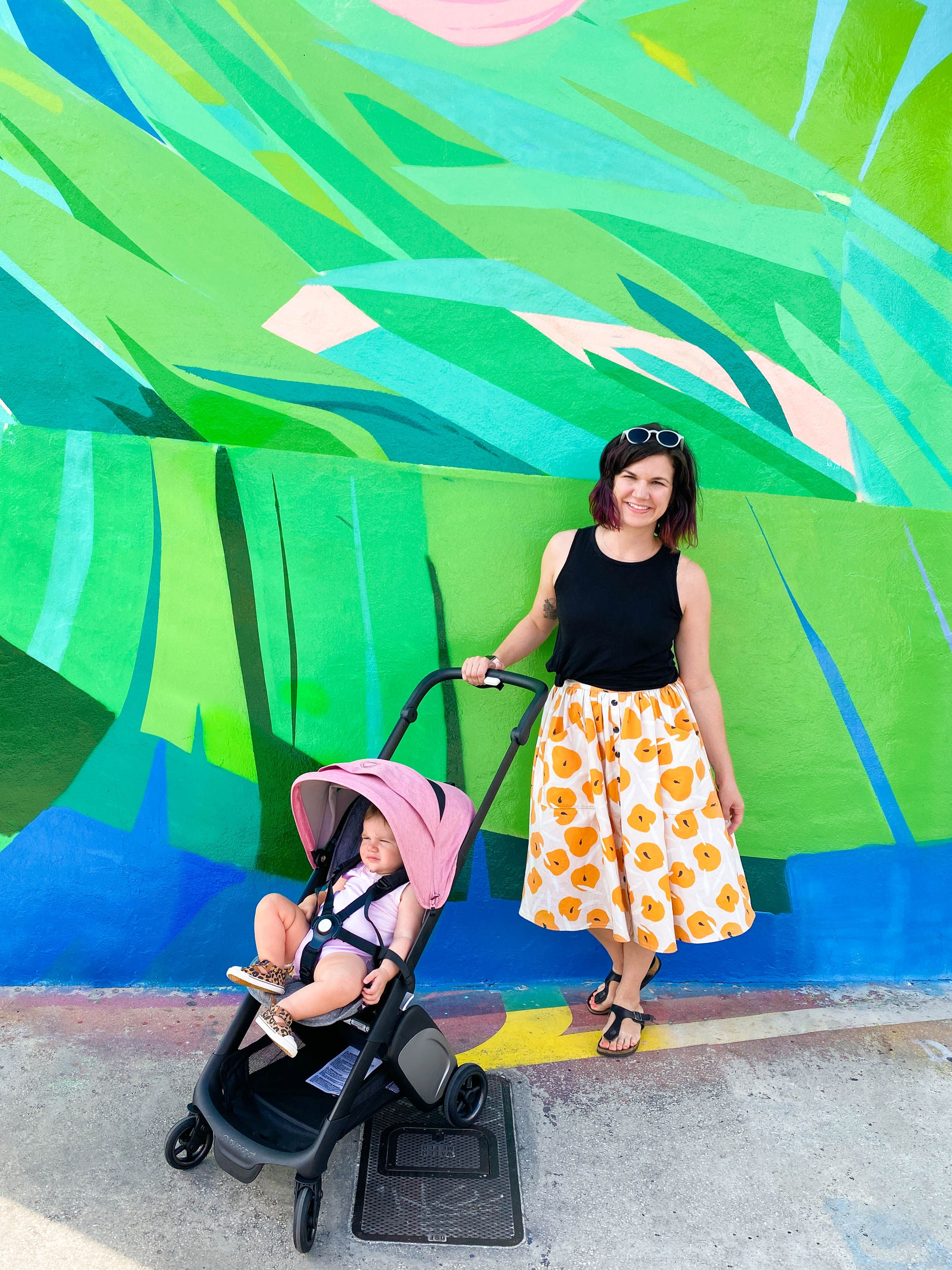The only stroller that can be both forward or rearfacing