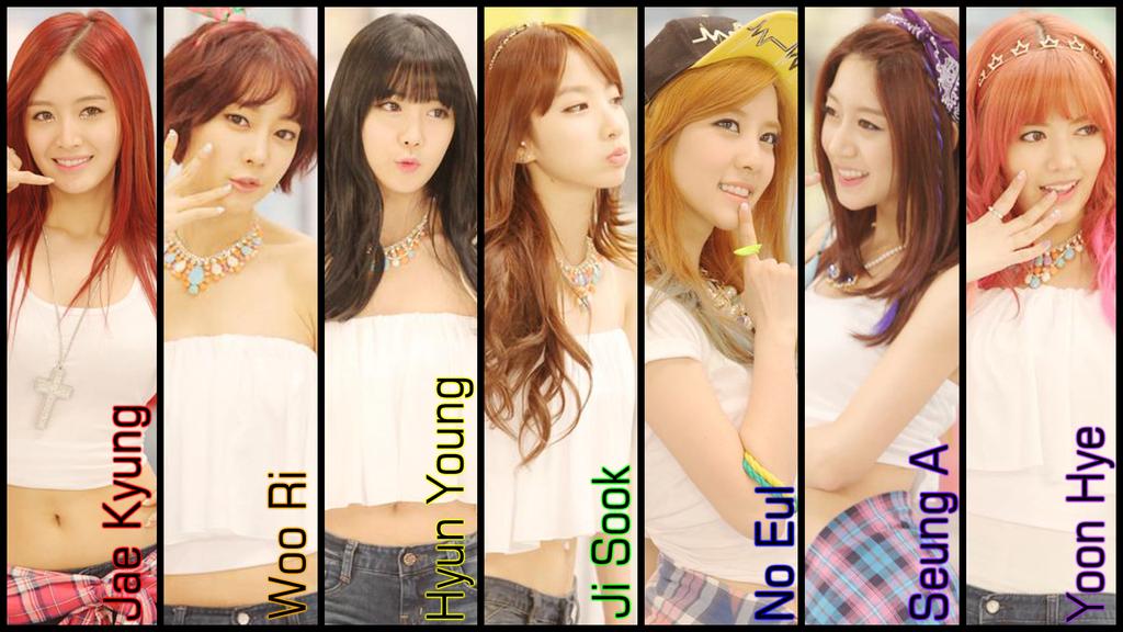 rainbow korean girl band group