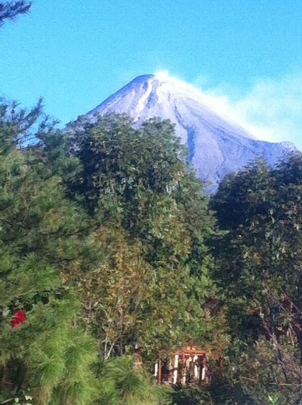 La belleza de nuestro Volcán de Colima, curiosamente que se encuentra en Jalisco