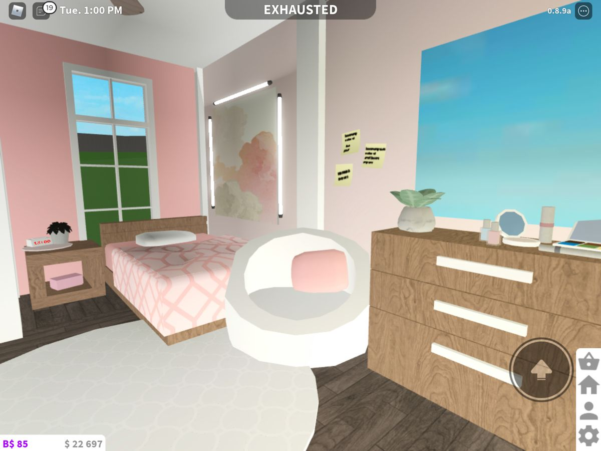 Pink Bedroom Idea For Bloxburg Sims House Design Luxury House Plans Pink Bedrooms Bloxburg bedroom ideas pink