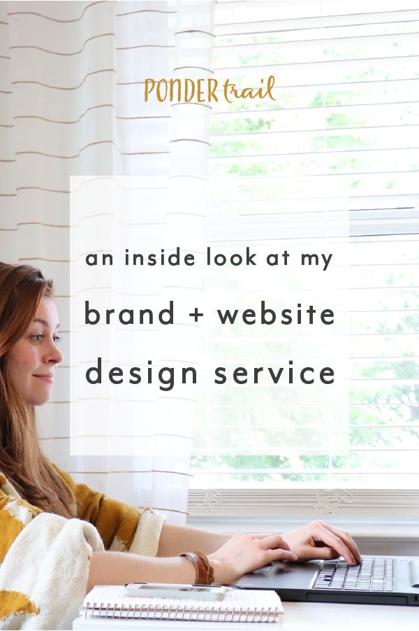 An Inside Look At My Brand And Website Design Service Service Design Branding Website Design Website Design