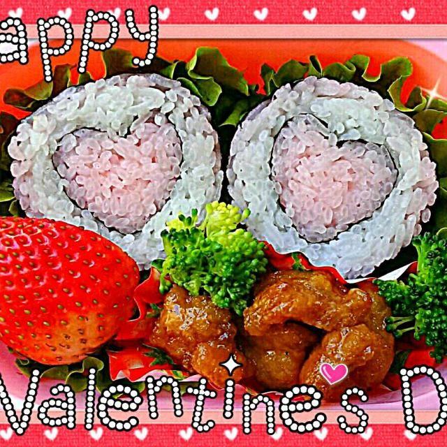 レシピとお料理がひらめくSnapDish - 68件のもぐもぐ - Happy Valentine's Day!  バレンタインキャラ弁 by The Reinharts