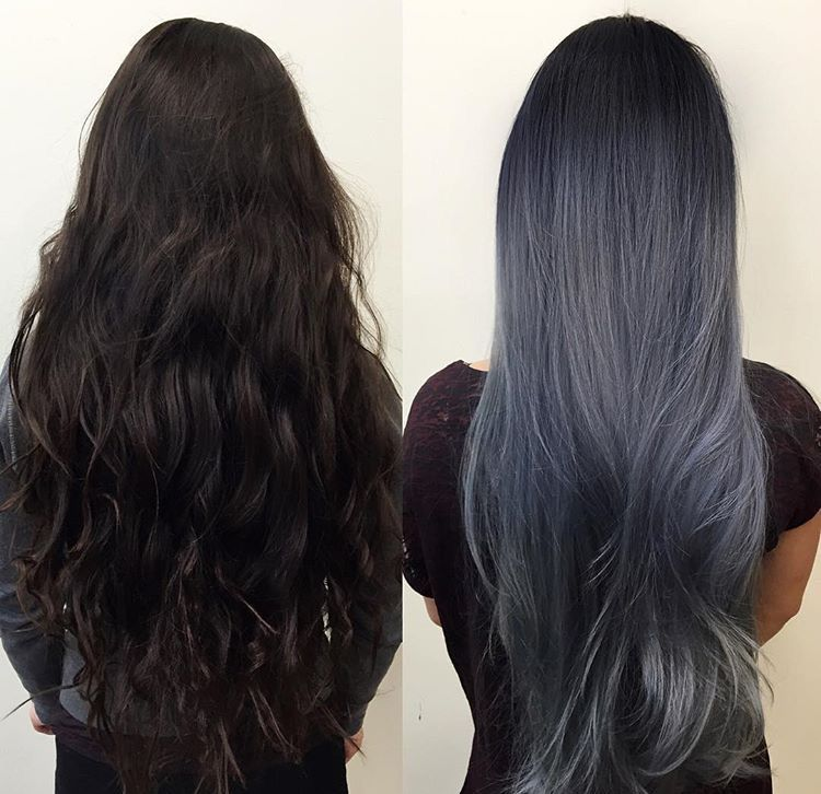 Bluish, Gray, And Silver