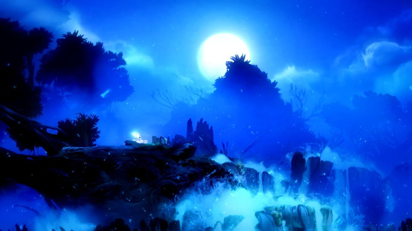 Ori And The Blind Forest Is Beautiful Fantasy Landscape Forest Wallpaper Forest