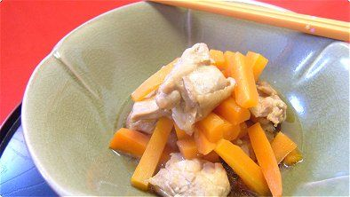 Simmered Chicken & Carrots