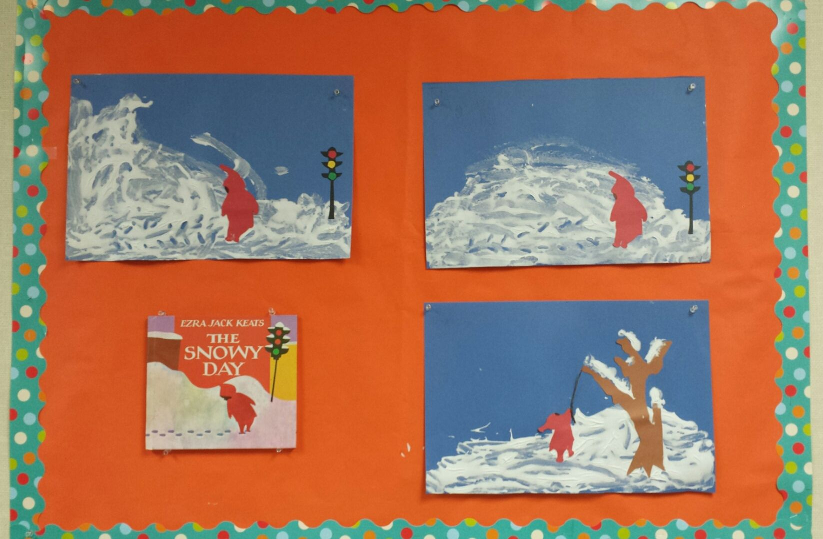 We Read And Sequenced The Snowy Day We Also Had To Stop