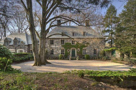 A lovely 1928 stone manor. This home was built for Florence Rockefeller Sloane.  Greenwich, CT