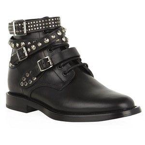 Saint Laurent Rangers Studded Boots