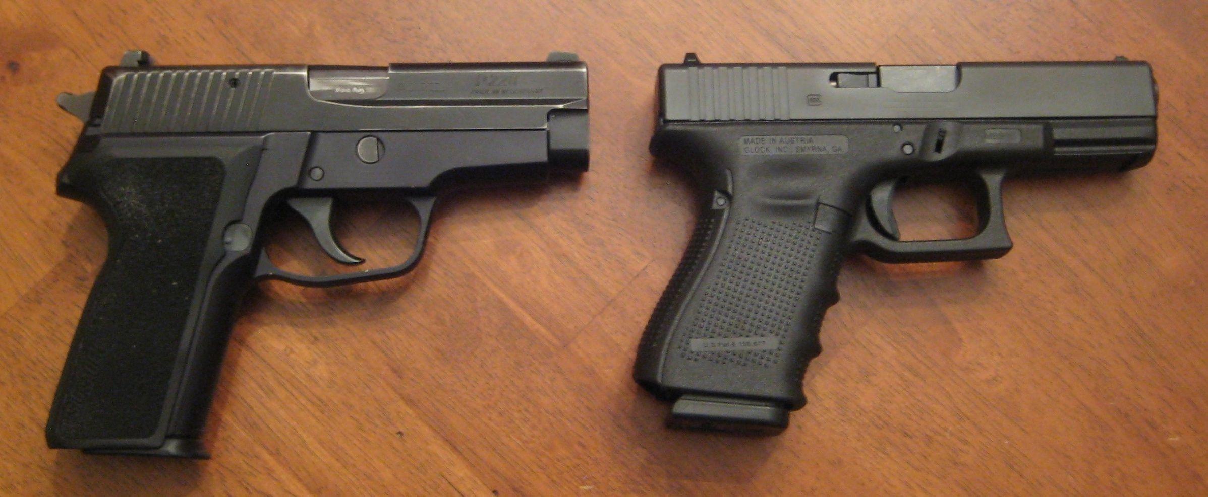Sig Sauer P228 E2 9mm 15rd vs Glock 19 Gen 4 9mm 15rd - Two