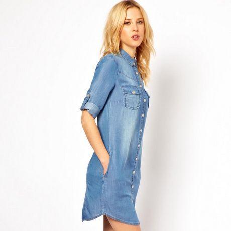 Robe en jean femme