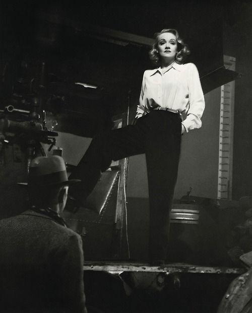 """Seven Sinners"" 1940 - Marlene Dietrich as Bijou Blanche"