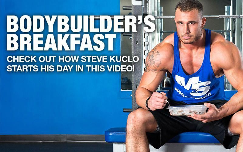 Watch on to see what Pro bodybuilders eat - team Allmaxathlete Steve Kuclo invited us over for brea...