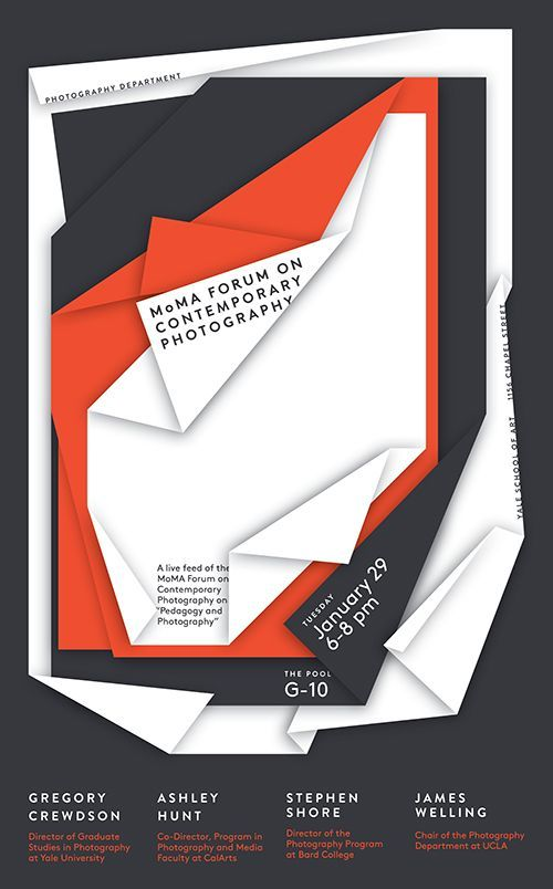 Moma Forum Jessica Svendsen Poster Poster Design