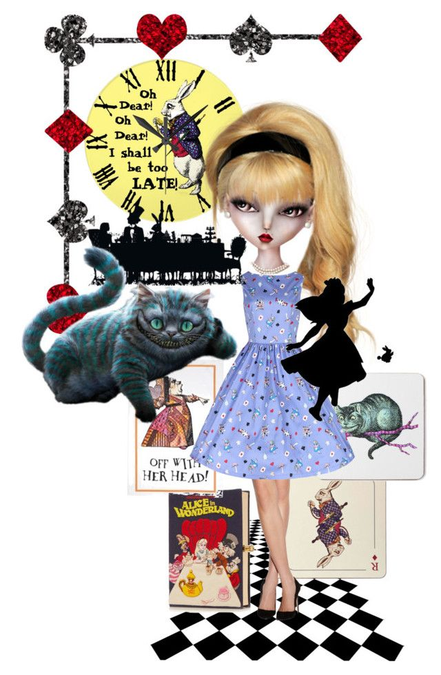 """Alice"" by shays22 ❤ liked on Polyvore featuring art"