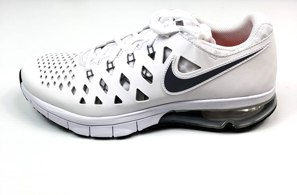 ee1664eaf5 Nike Air Trainer 180 White Black 916460-101 Training Shoes Mens Size 10.5  $125   eBay