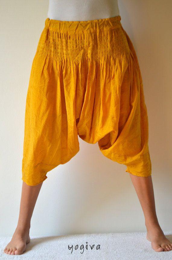 Aladdin Trousers Alibaba Hippy Harem Yoga Pants Big Baggy Bright Cotton  Nepal