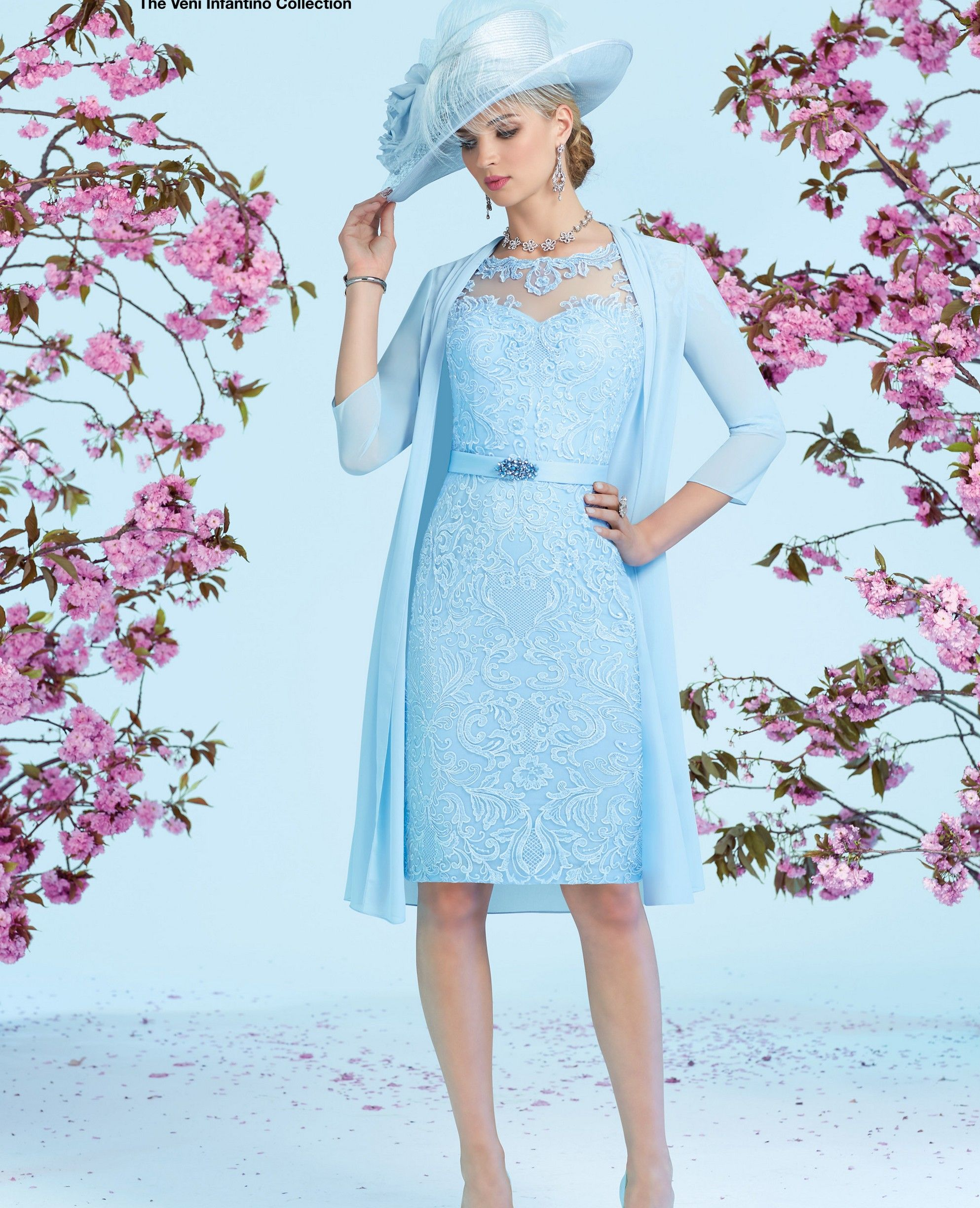 Ronald Joyce Dress & Coat 991230, colour Blue. | Ronald Joyce ...