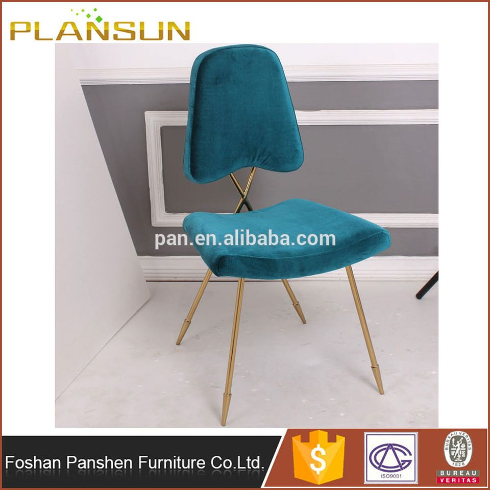 Stylish Design Furniture Gold Metal Maxime Dining Chair By
