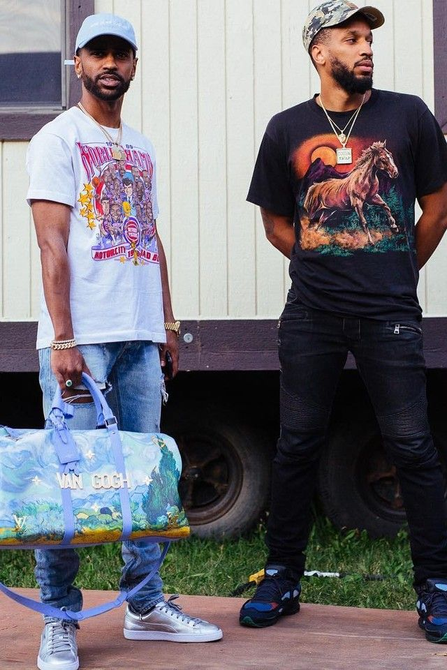 6841a6fd T-Shirt | Cuties | Big sean, Puma sneakers, Louis vuitton