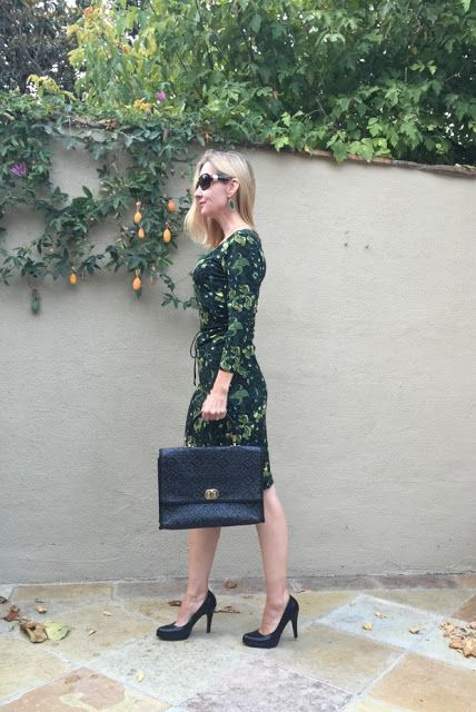 Fashion Should Be Fun - Style Over Forty: Fall Florals & My Refined Style Link Up!