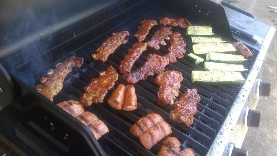 Photo of Like Buttah! Grilled Pork Riblets With Homemade BBQ Sauce Recipe  – Food.com