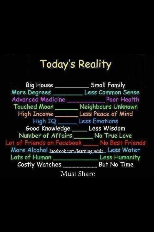 Today's reality sadness!!! (With images) Funny facebook